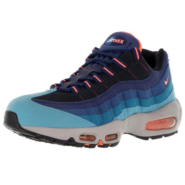 Nike Men's Air Max '95 University Blue Mesh Running Shoes