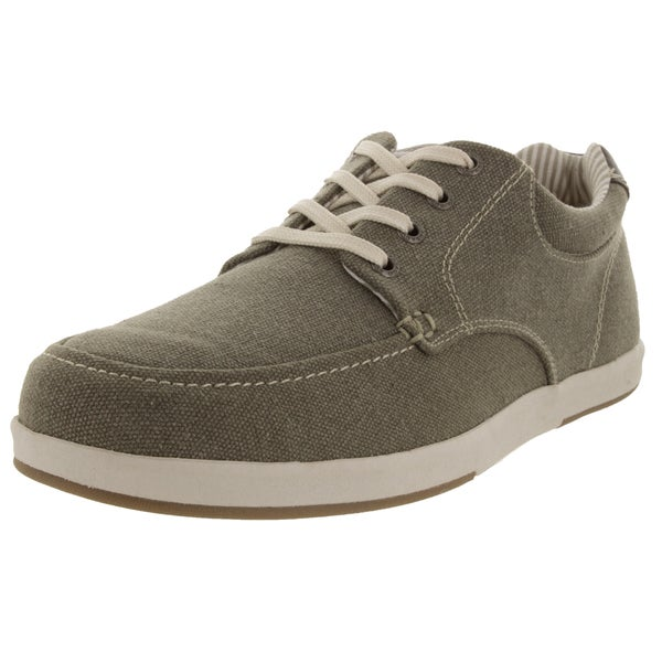 Sebago Men's Mason Lace Up Taupe Casual Shoe