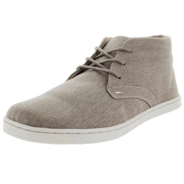 Sebago Men's Barnet Chukka Beige Canvas Walking Shoes
