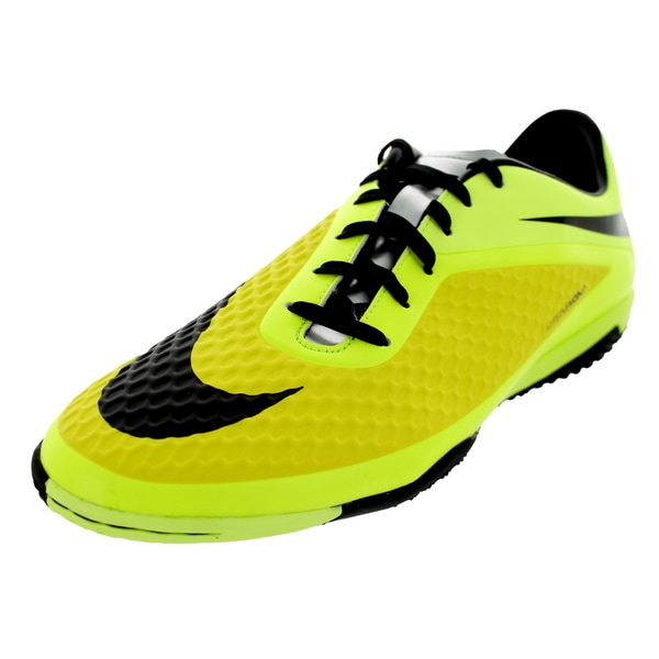 Nike Men's Hypervenom Phelon IC Green Synthetic Soccer Shoes