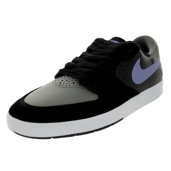 Nike Men's Paul Rodriguez 7 Black Suede Skate Shoes