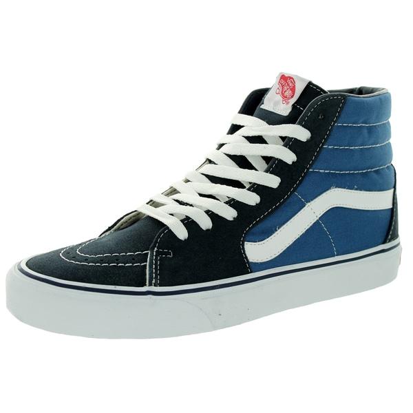 Vans Unisex Sk8-Hi Navy Skate Shoe