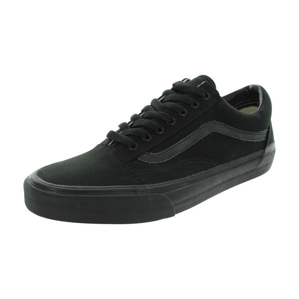 Vans Old Skool Black Canvas Skate Shoes