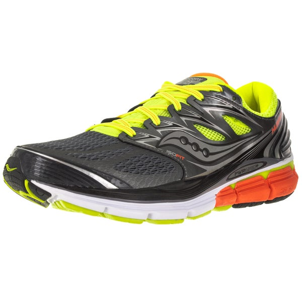 Saucony Men's Hurricane ISO Orange Mesh Running Shoes