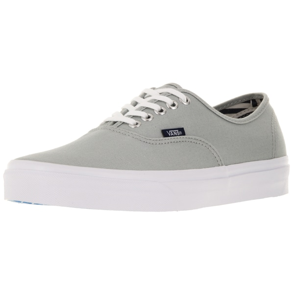Vans Unisex Authentic Grey Canvas Skate Shoes