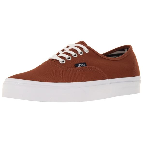 Vans Unisex Authentic Deck Club Auburn Canvas Skate Shoes