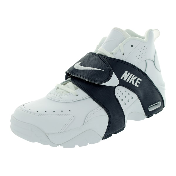 Nike Men's Air Veer White/White/Obsidian Leather/Synthetic Training Shoe
