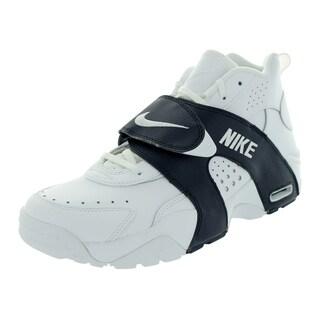 Nike Men's Air Veer White/White/Obsidian Leather/Synthetic Training Shoe