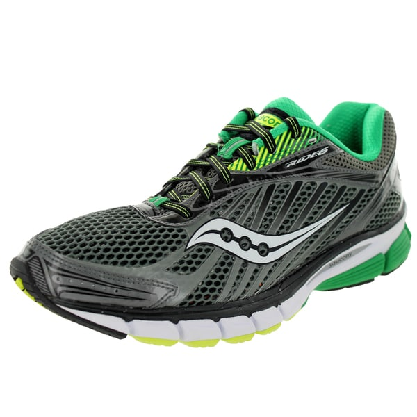 Saucony Men's Ride 6 Grey Mesh Running Shoe