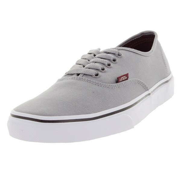 Vans Unisex Authentic Sport Pop Grey Canvas Skate Shoes