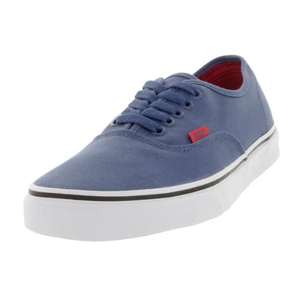 Vans Unisex Authentic Sport Pop Blue Canvas Skate Shoe