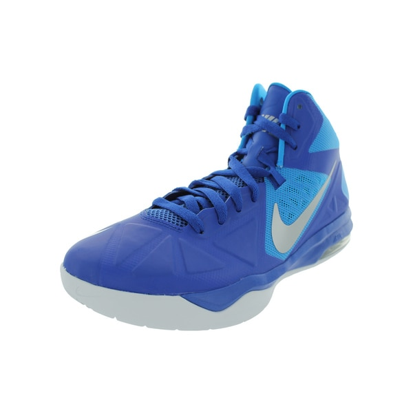 Nike Men's Air Max Body Blue Basketball Shoe