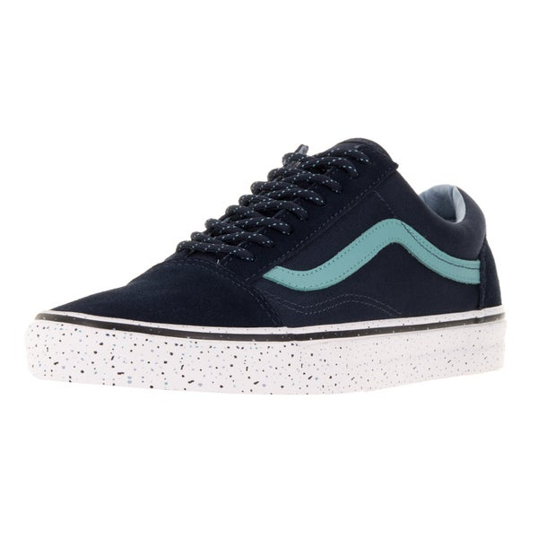 Vans Men's Old Skool Blue Textile Skate Shoes
