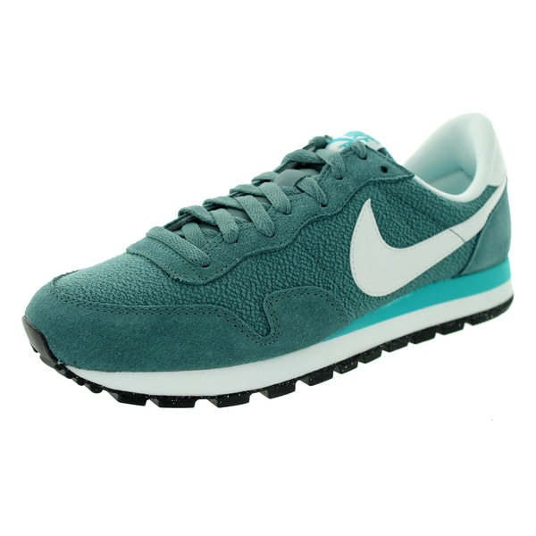 Nike Men's Air Pegasus 83 Slate/Dusty Cactus Suede Running Shoes