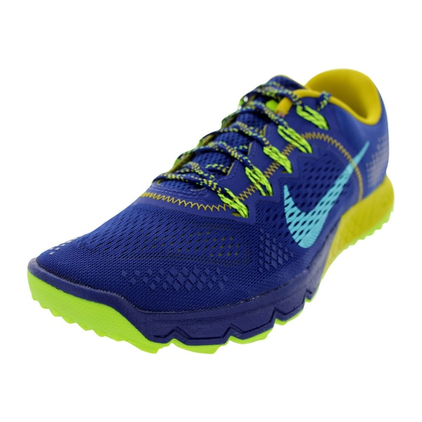 Nike Men's Zoom Terra Kiger Royal Blue Mesh Training Shoes