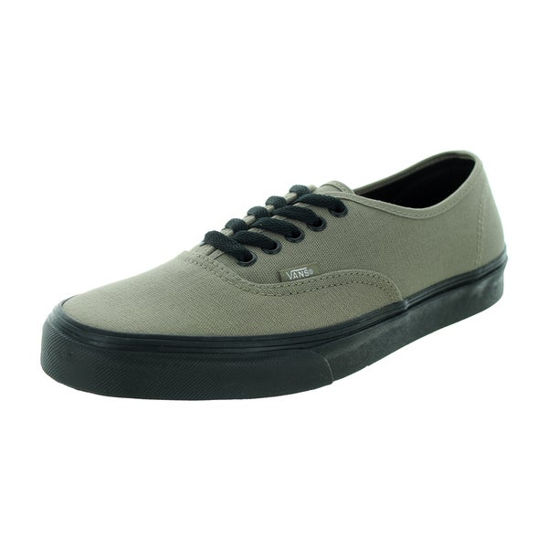 Vans Unisex Brindle Green Canvas Authentic Skate Shoe