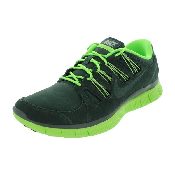 Nike Men's Free 5.0 Ext Vintage Green Running Shoe 19429474