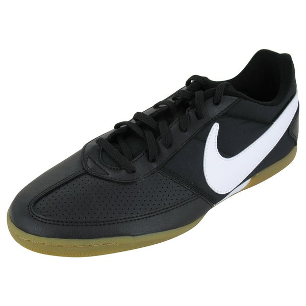 Nike Davinho Black and White Indoor Soccer Shoes