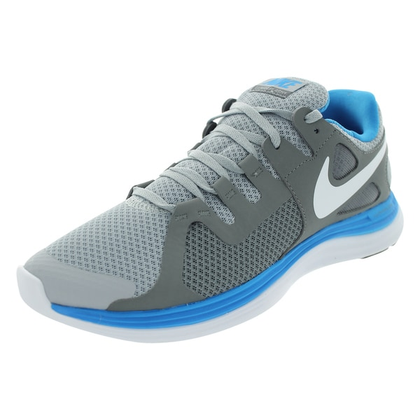Nike Men's Lunarflash Grey Mesh Running Shoes