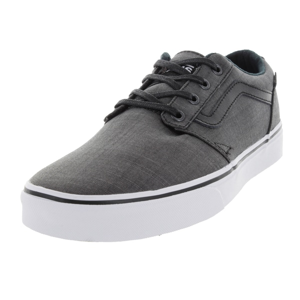 Vans Men's Chapman Black Denim Skate Shoes