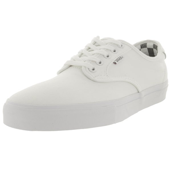 Vans Men's Pro Ferguson White Textile Skate Shoes
