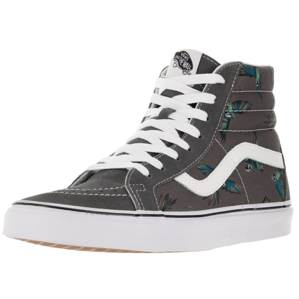 Vans Unisex SK8-Hi Reissue Dirty Bird Grey/True White Canvas Skate Shoe