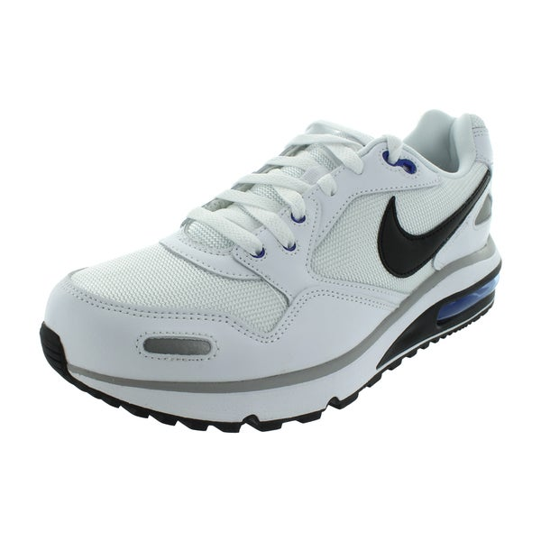 Nike Air Max Direct White/Black/Hyper Blue Mesh Running Shoes 19429876