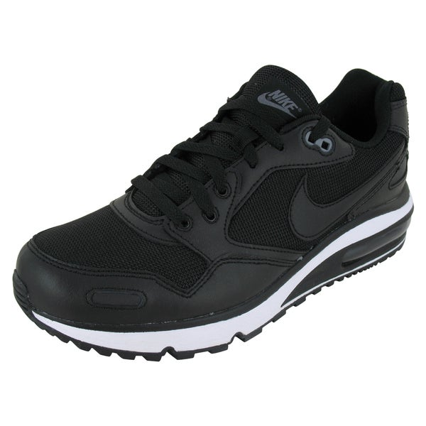 Nike Air Max Black Leather, Mesh Running Shoes
