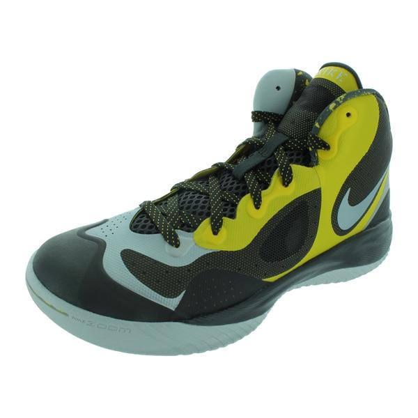 Nike Men's Zoom Hyperfranchise XD Tour Yellow/Night Stadium Basketball Shoes