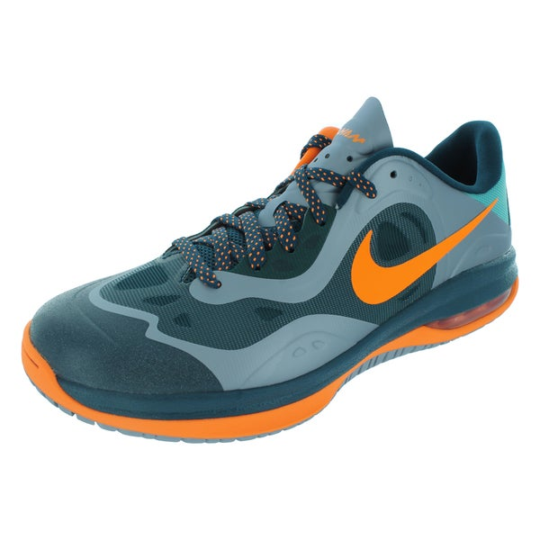 Nike Men's Max H.A.M. Bright Citrus/Turquoise/Grey Low Basketball Shoes