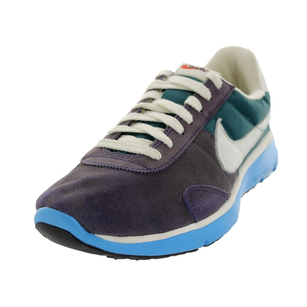 Nike Men's Pre Montrl Vtg Lnr(+) Nrg Imperial Purple Atmc Distressed-look Running Shoe