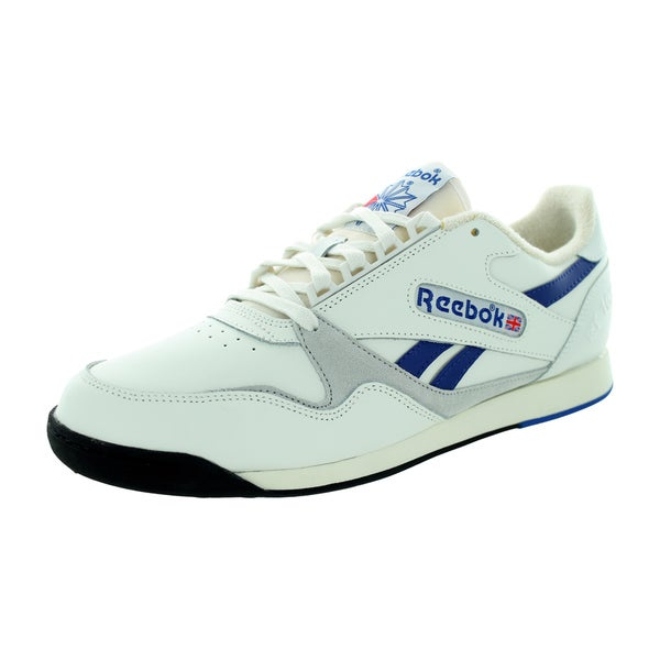 Reebok Men's Rt1000 Beige Leather Walking Shoes