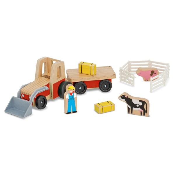 Melissa & Doug Farm Tractor