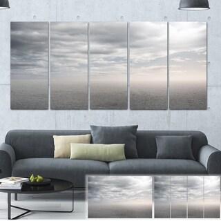 Desert Land and Sky - Landscape Art Canvas Print