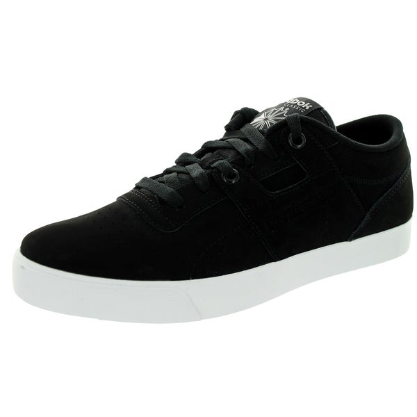 Reebok Men's Workout Low Clean Fvs Black/White Casual Shoe
