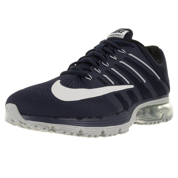 Nike Men's Air Max Excellerate 4 Mid Navy/Wolf Grey/Black Running Shoe