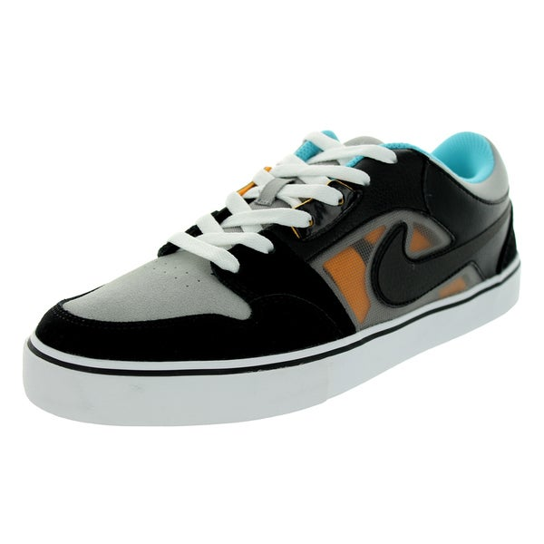Nike Men's Ruckus 2 Lr Medium Grey/Black/Laser Orange Skate Shoe