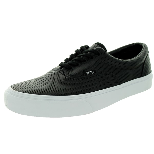 Vans Unisex Era Perf Leather Black Skate Shoe