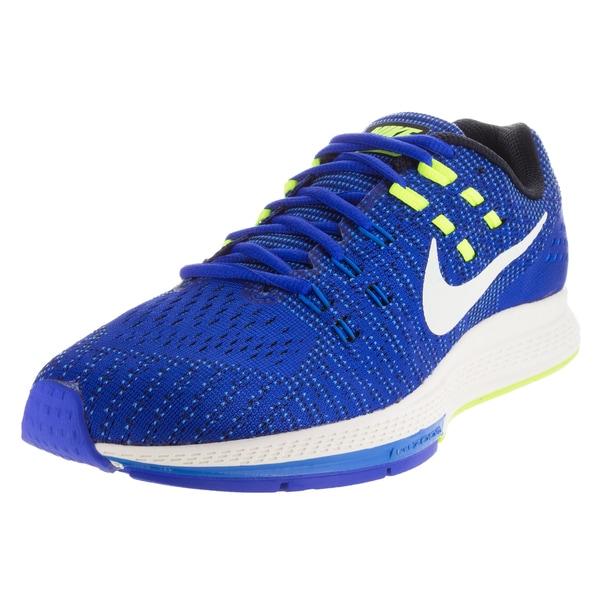 Nike Men's Air Zoom Structure 19 Racer Blue/Sail/Photo Blue/Vlt Running Shoe