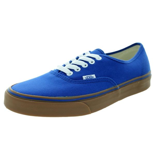 Vans Unisex Authentic Gumsole Olympn Bl/Md Gum Skate Shoe