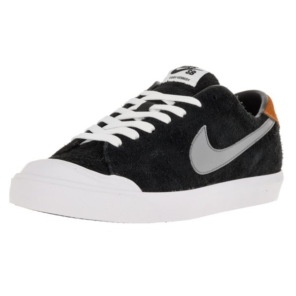 Nike Men's Zoom All Court Ck Black/Cool Grey/Vvd Orange/White Skate Shoe