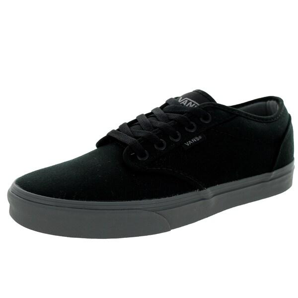 Vans Men's Atwood Check Liner Black/Grey Skate Shoe