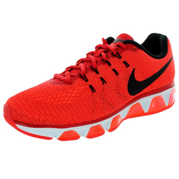 Nike Men's Air Max Tailwind 8 University Red/Black/ Orange/White Running Shoe