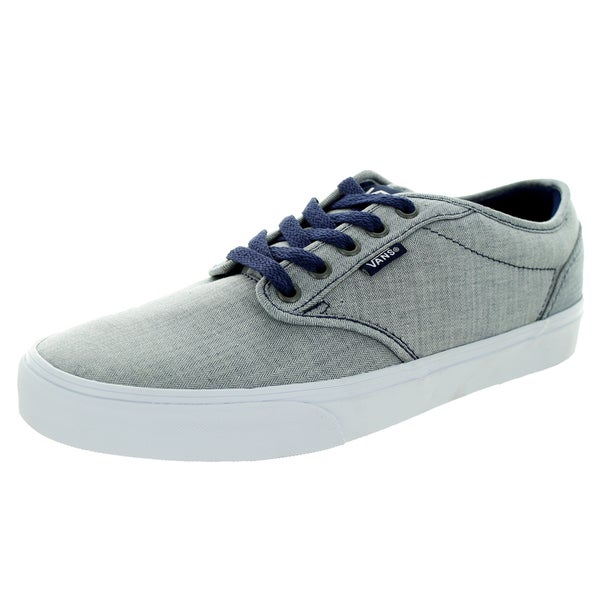 Vans Men's Atwood Textile Patriot Blue/White Skate Shoe