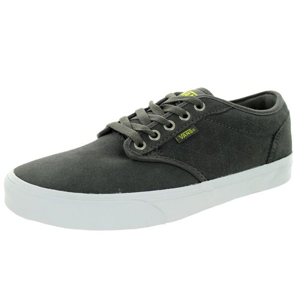 Vans Men's Atwood Quilt Pewter/Marshmallow Skate Shoe