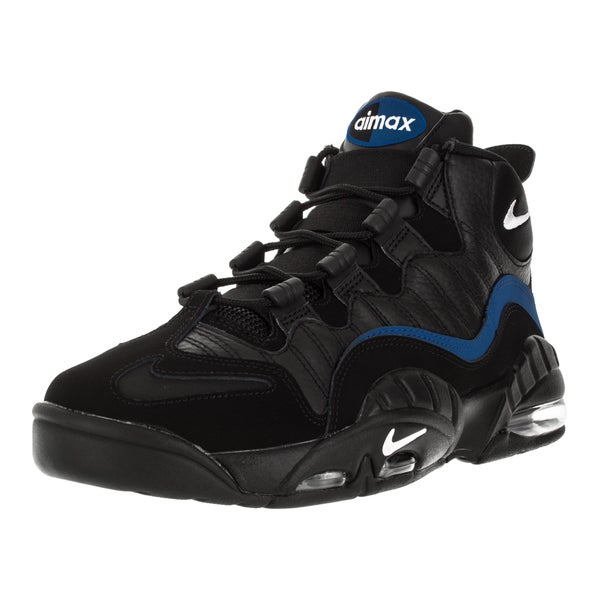 Nike Men's Air Max Sensation Black/White/Varsity Royal Basketball Shoe