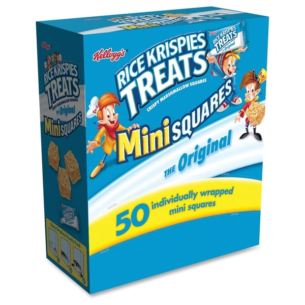 Keebler Rice Krispies Treats Original Mini Squares - Blue (50/Box)
