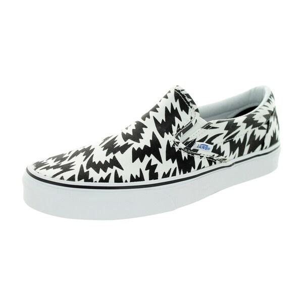 Vans Unisex Classic Slip-On Eley Kishimoto Flas/White/Black Skate Shoe