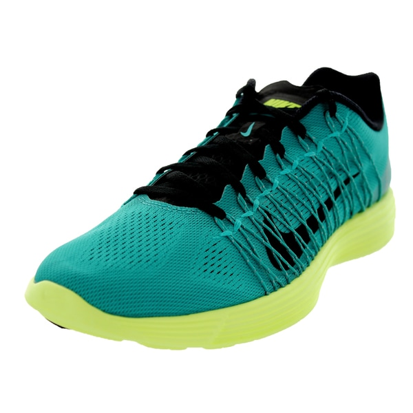 Nike Men's Lunaracer+ 3 Turbo Green/Black/Purple Vnm Running Shoe