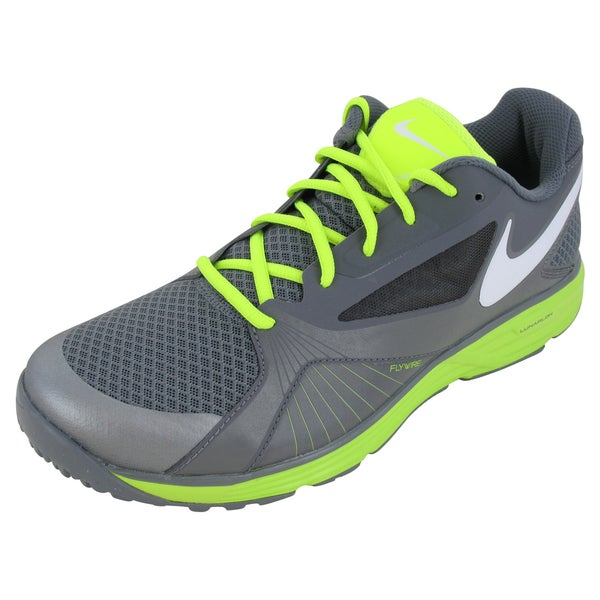 Nike Lunar Edge 15 Training Shoes Cool Grey/White/Volt